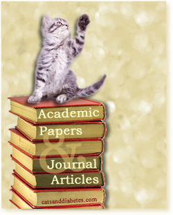 academic papers about feline diabetes cats and diabetes cats and diabetes article cover academic papers