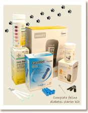 Complete Feline Diabetes Starter Kit