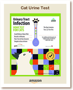 Picture of Cat Urine Test Kits you can Buy On Amazon